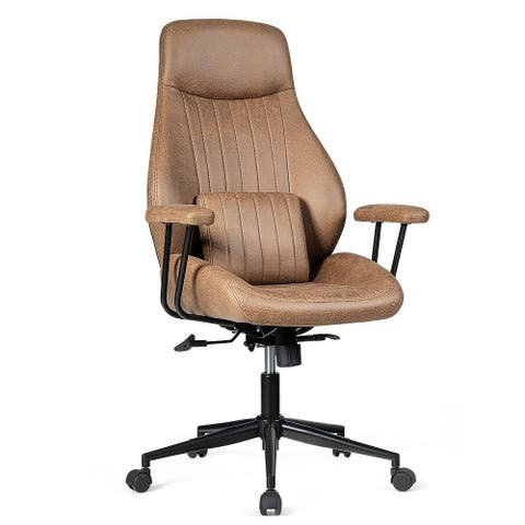 Adjustable Ergonomic High Back Office Chair with Lumbar Support