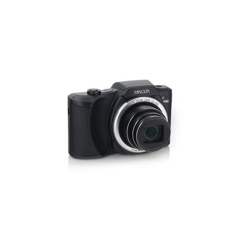 Minolta 20 Mega Pixels Wifi Digital Camera with 22x Optical Zoom & HD Video with 3.0-Inch LCD (Black)