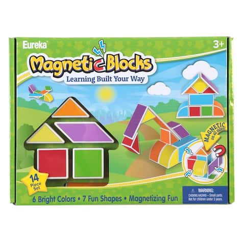 Magnetic Blocks, 14 Count