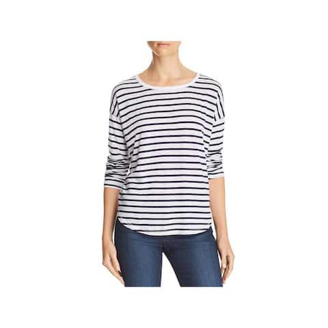 Splendid Womens T-Shirt Crewneck Long Sleeve