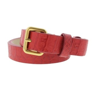 Marc by Marc Jacobs Womens Textured Casual Skinny Belt - XS/S