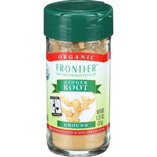 Frontier Herb - Organic Fair Trade Ginger Root ( 3 - 1.31 OZ)