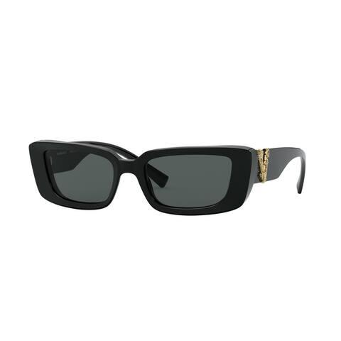 Versase VE4382 GB1/87 52 Black Woman Irregular Sunglasses