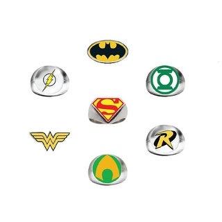 DC Comics Super Hero Power Rings (7 Ct)