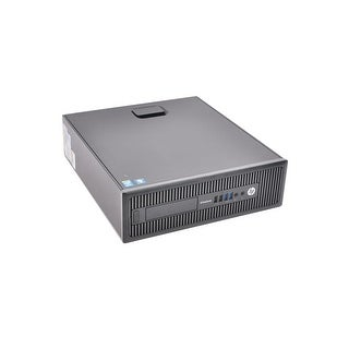 HP EliteDesk 800 G1 SFF Refurbished PC - Intel Core i5 4570 4th Gen 3.2 GHz 16GB 256GB SSD DVD-ROM Windows 10 Pro 64-Bit