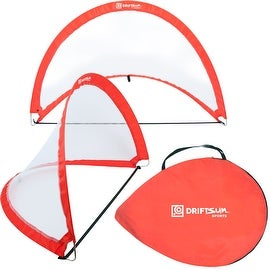 Driftsun Sports Pop Up Soccer Goal Set (2 Goals in 1 Bag)
