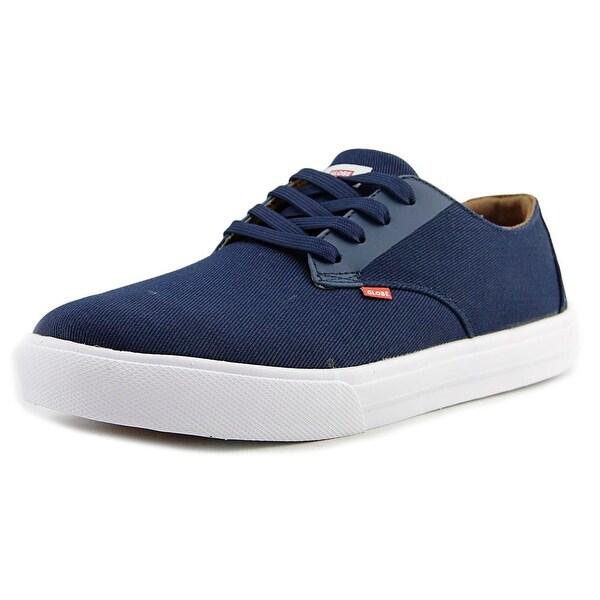 Globe Motley LYT Men Round Toe Canvas Blue Sneakers