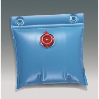 """13"""" Above Ground Winter Swimming Pool Cover Wall Bag Water Weight - Blue"""
