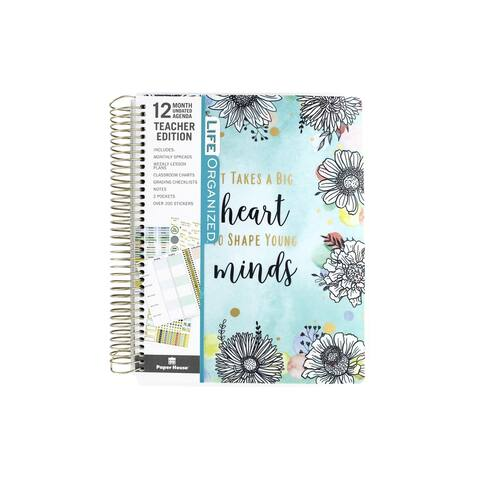 Paper House Life Org Planner 12 Month Teacher
