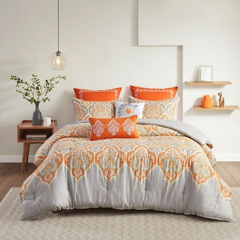 The Curated Nomad Largo Cotton 7-piece Comforter Set