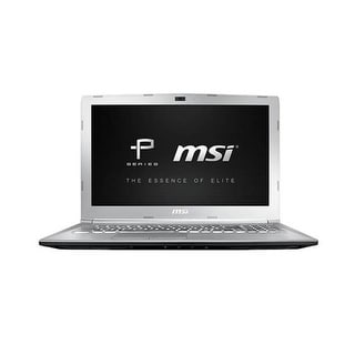 MSI USA 15.6 inch Notebook PE62VR837 Notebook Laptop