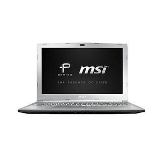 MSI USA 15.6 Inch Notebook PE62VR837 Notebook Laptop