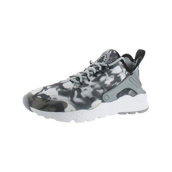 Nike Womens Air Huarache Run Ultra Print Running Shoes Lightweight Athletic - 5 medium (b,m)