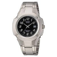 Casio Men's Quartz Silver Bracelet Watch