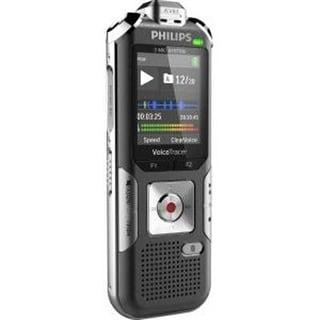 Philips Voice Tracer 6010 Digital Recorder, 8 Gb, Gray/Silver