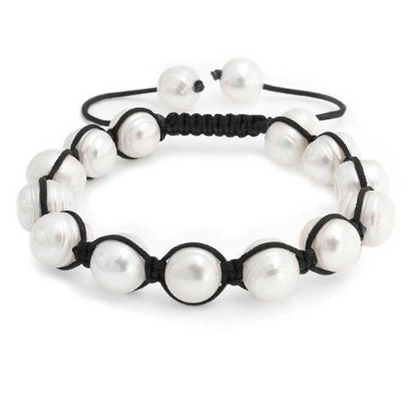 Shop Bling Jewelry Baroque Freshwater Cultured Pearl Bracelet
