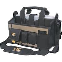 "Custom Leathercraft 16"" 17-Pocket Tool Bag 1529 Unit: EACH"