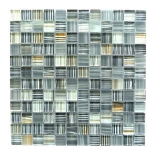 "Miseno MT-CRAFTSHIP1SQ Craftship - 1"" X 1"" - Glass Visual - Wall Tile (Sold by S"