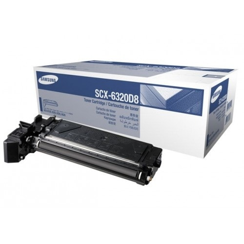 """Samsung SCX-6320D8 Black Toner Cartridge Toner Cartridge"""