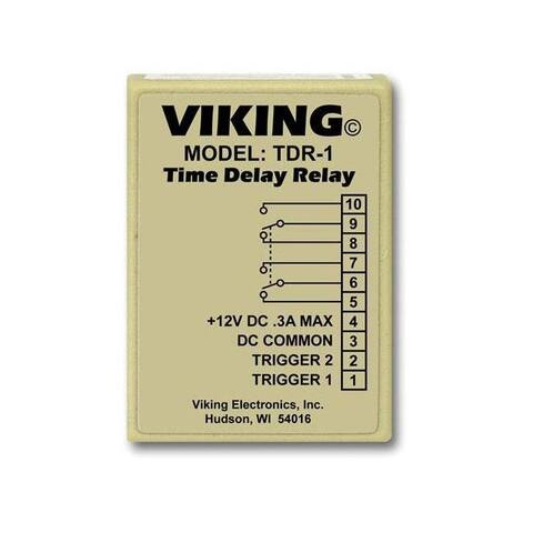 Viking tdr-1 viking time delay relay