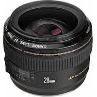 Canon EF 28mm f/1.8 USM Lens (International Model)