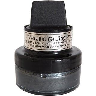 Graphite - Cosmic Shimmer Metallic Gilding Polish