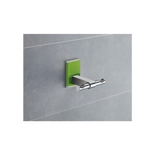 Nameeks 7826 Gedy Maine Double Wall Mounted Robe Hook (2 options available)