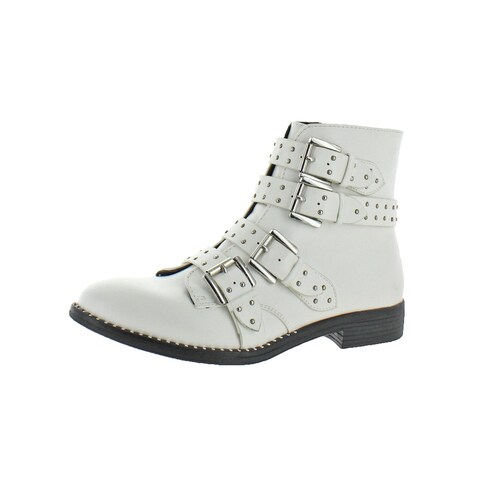 Steve Madden Womens Reena Ankle Boots Studded Bootie