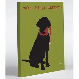8 x 10 in. Make Things Happen Canvas Wall Decor by Dog is Good