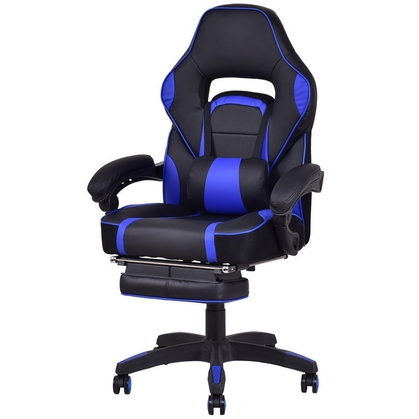 Shop Costway Office Home Racing Style Executive High Back