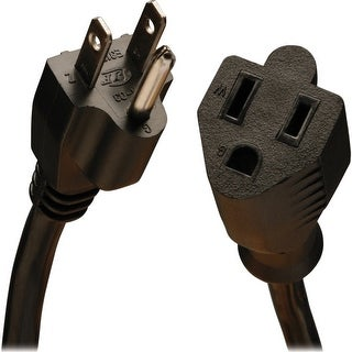 Tripp lite p024-010-13a 10ft power extension cord 16awg