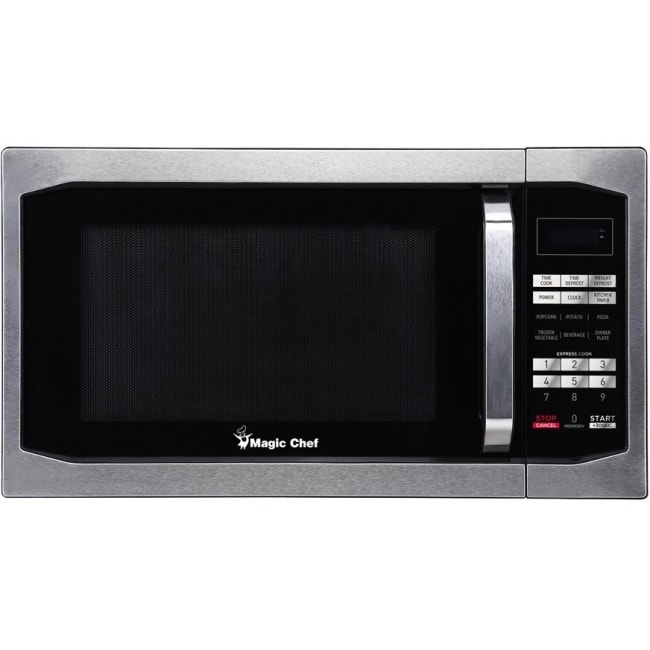 Magic chef mcm1611st 1.6 cu ft microwave oven ss