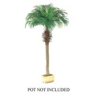 Set of 2 Artificial Phoenix Palm Trees 6' - Green