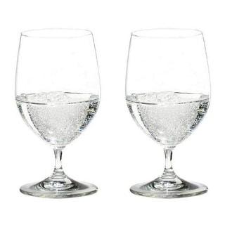Link to Riedel Vinum Water Glass (Set of 2) Similar Items in Glasses & Barware