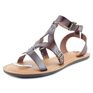 Madeline Delani Women Open Toe Synthetic Gladiator Sandal