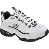 Skechers Men's Energy After Burn Sneaker White/Navy