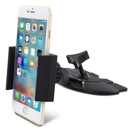 Skiva Universal Smartphone CD Slot Car Mount Holder for iPhone 7 7+ 6s 6s+ SE 6 6+, Samsung Galaxy S7 S6 Edge S5 Note 5 Note 4
