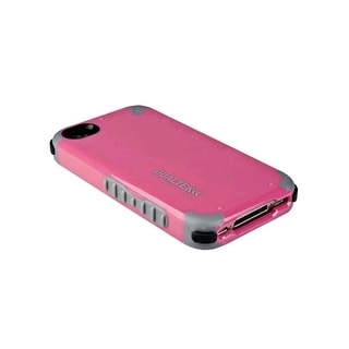PureGear DualTek Extreme Impact Case with 3M EAR for Apple iPhone 4/4S - Pink