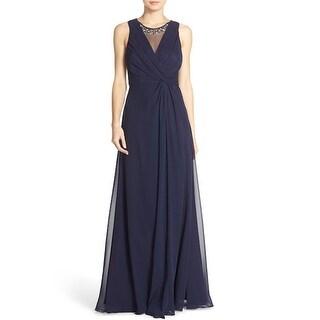 Eliza J Women's Dress, EJ6M1353, Navy, 6