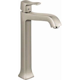 Hansgrohe 31078  Metris C 1.2 GPM Single Hole Bathroom Faucet with EcoRight, Quick Clean, and ComfortZone Technologies - Drain