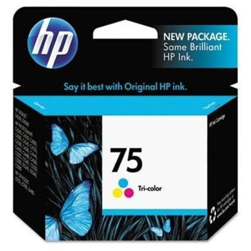 HP 75 Tri-color Original Ink Cartridge (CB337WN)(Single Pack)