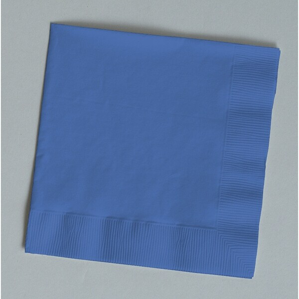 Touch Of Color Beverage Napkins Pack Of 50 True Blue - Multi