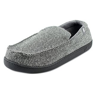 Isotoner Signature Moccasin Slippers Moc Toe Synthetic Slipper