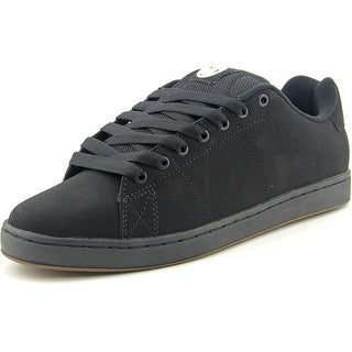 DVS Gavin 2 Men Round Toe Leather Black Skate Shoe