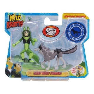Wild Kratts Animal Power 2-Pack Figure Set: Gray Wolf Power