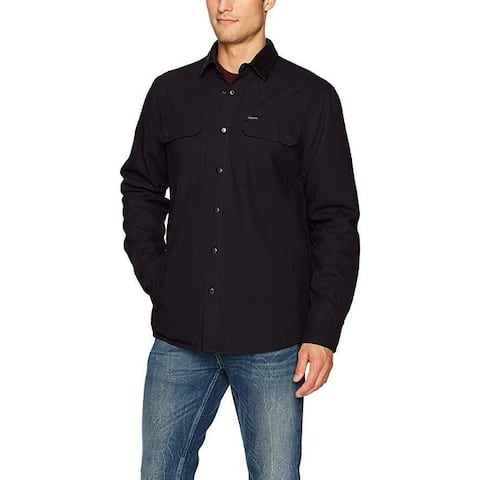 Volcom Men's Larkin Classic Fit Jacket, Black,SZ M