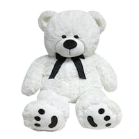 JOON Big Teddy Bear, Tuxedo Edition, White