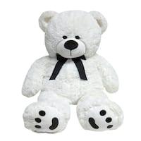 JOON Big Teddy Bear, Tuxedo Edition, White