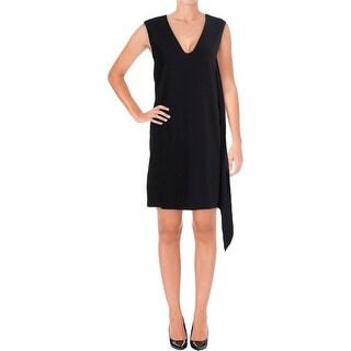 Helmut Lang Womens Cocktail Dress Drapey Sleeveless - S