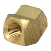 JMF 4505657 45-Degree Pipe Elbow Lead Free, Yellow Brass